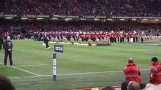 Cwm Rhondda sung at Millennium Stadium