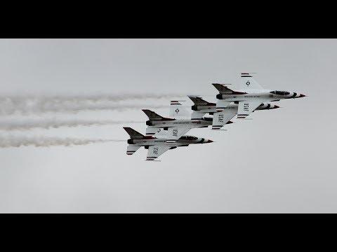 The Thunderbirds Display at RAF Fairford RIAT 2017