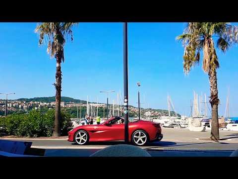 Ferrari Portofino - commercial shoot @ Koper, Slovenia