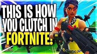 "YOU CAN COUNT ON ME TO CLUTCH IN FORTNITE! ""Fortnite Duo Victory Royale On PC"""