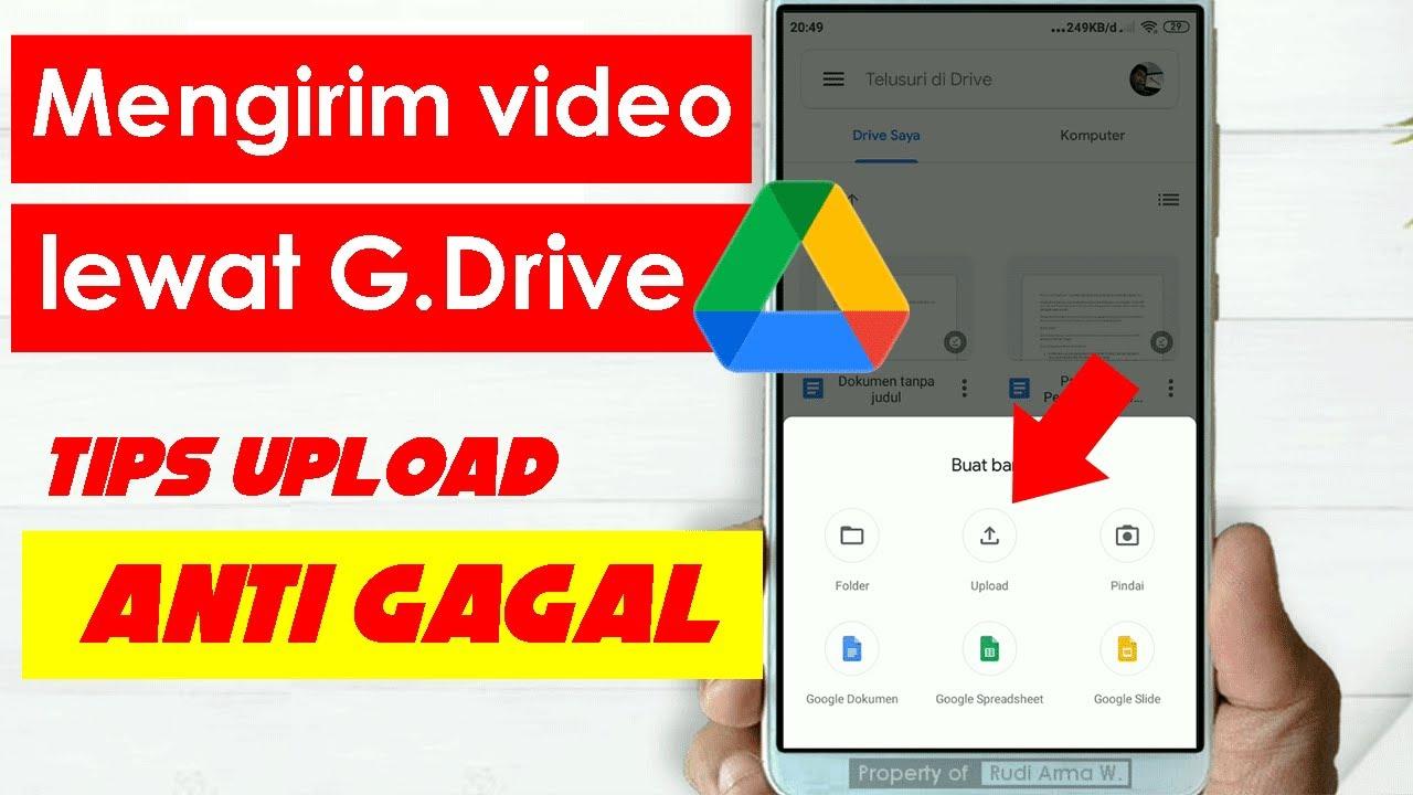 Cara Mengirim Video Lewat Google Drive Share Link Youtube