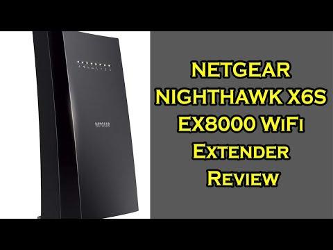 NETGEAR NIGHTHAWK X6S EX8000 WiFi Extender Review