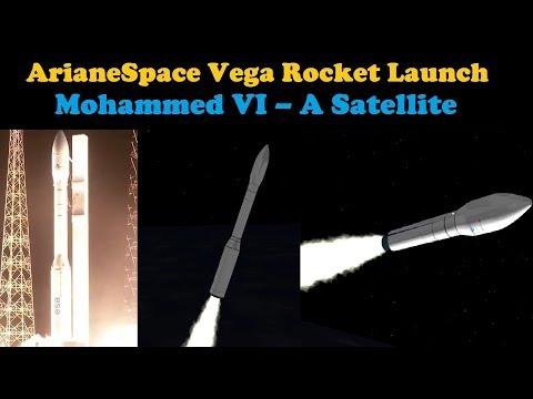 Vega Rocket Launches Morocco's Mohammed VI - A Satellite (Flight VV11)