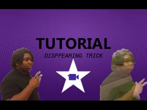 Tutorial || HOW TO MAKE YOURSELF DISAPPEAR!!!