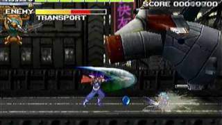 Strider 2 (Playstation) - Opening & Gameplay Collage