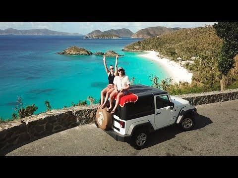 EXPLORING the BEST BEACHES in the WORLD, St. John, U.S.V.I  |  VLOG 53