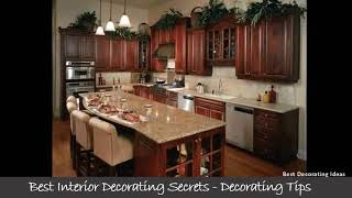 Kitchen design pictures cherry cabinets | Modern cookhouse area design pic collection for