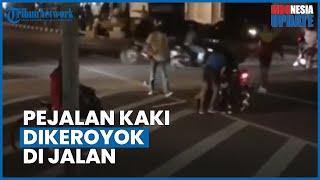 Pria Dikeroyok di Tengah Jalan di Bandung tapi Tak Ada Satupun Pengendara yang Menolong