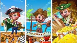 Pirates Tale Treasure Island baby care Android İos Free Game GAMEPLAY VİDEO