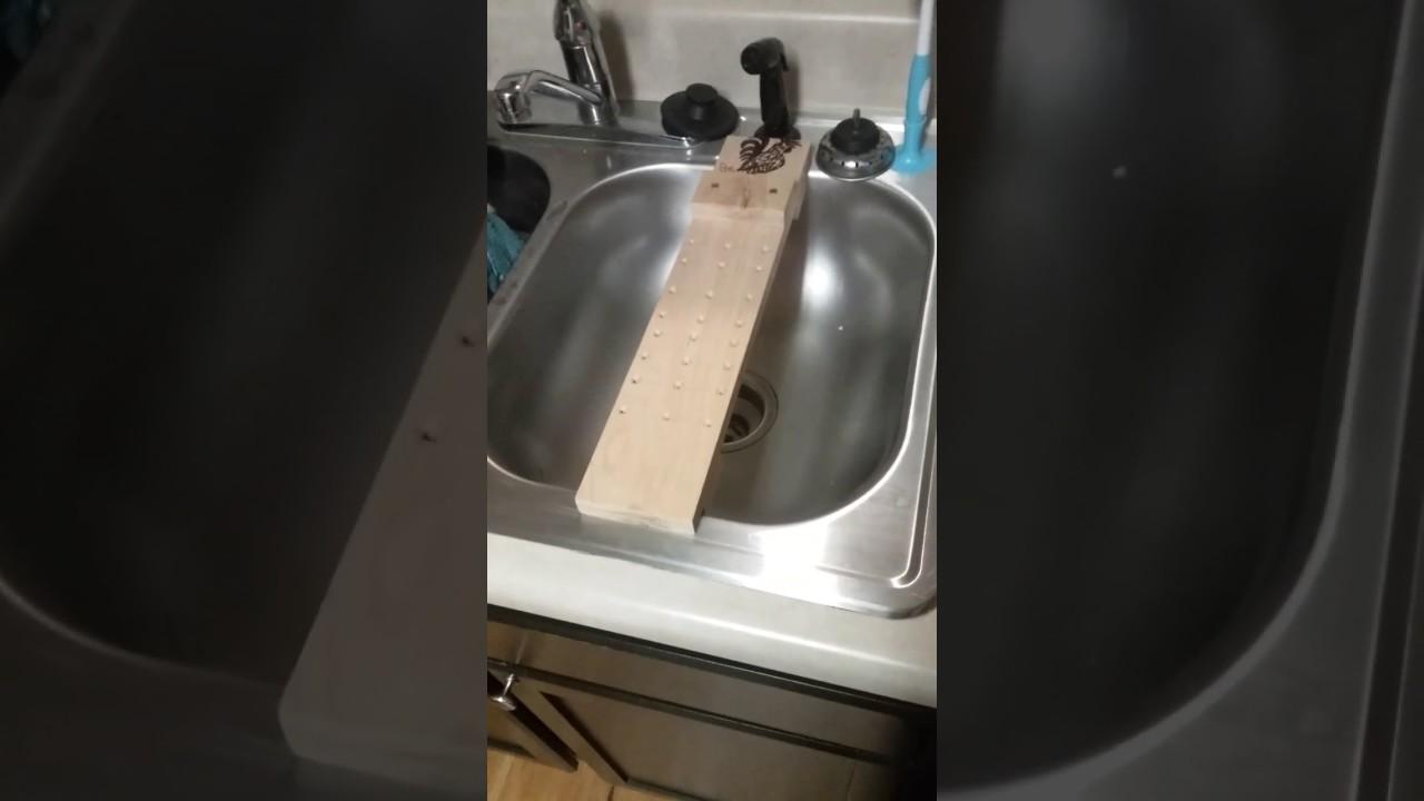 sink bridge made by myself