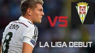 toni kroos vs cordoba   real madrid vs cordoba 2 0   la liga 2014 debut