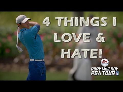 Rory Mcilroy PGA Tour PS4 Review: 4 Things I Love & Hate About the Game