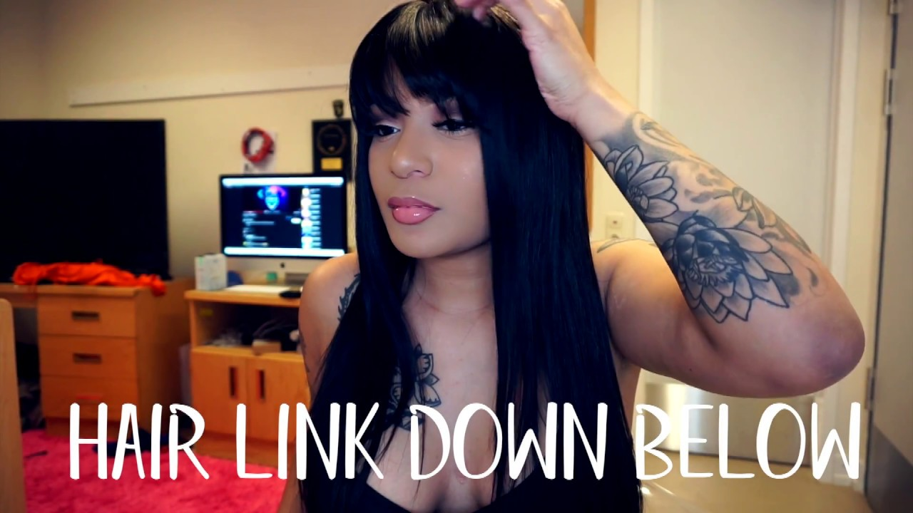 Grwm How To Install Style Lace Front Wigs With Bangs Rpghair
