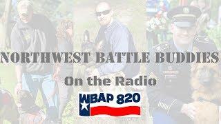 Shannon Walker, President of Northwest Battle Buddies discussing Veterans with PTSD