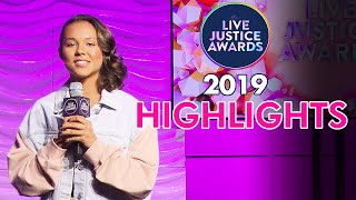 2019 LIVE JUSTICE AWARDS 💗HIGHLIGHTS
