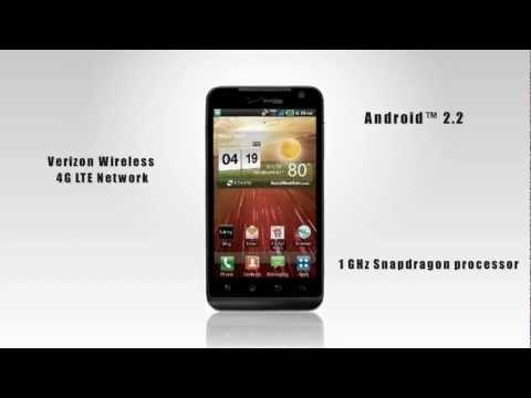 LG Revolution VS910 Verizon Wireless 4G Android Phone