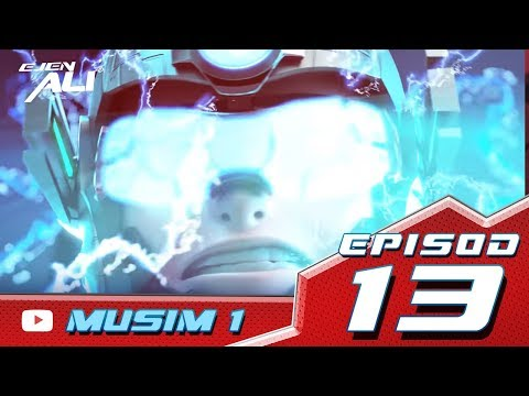 Ejen Ali Episod 13 - Misi: Override