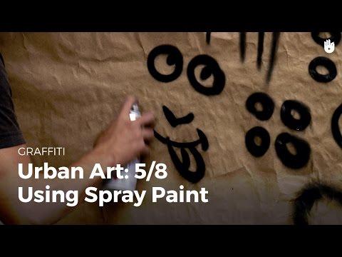 Urban art: using spray paint