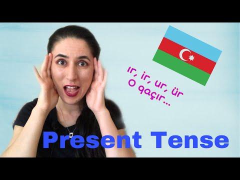 Learn Azerbaijani: Present Tense Of Verbs