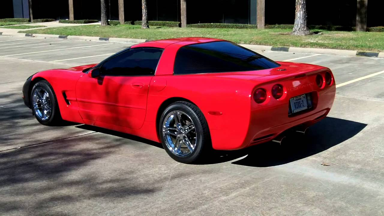 c5 corvette with borla exhaust youtube. Black Bedroom Furniture Sets. Home Design Ideas