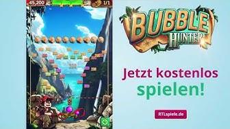 Lust auf ein buntes Abenteuer? Entdecke jetzt Bubble Hunter bei RTLspiele.de