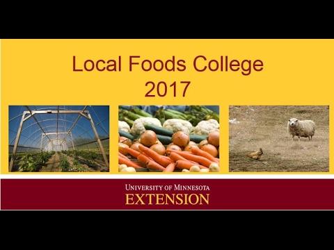 Local Foods College 2017 - Post Harvest Handling
