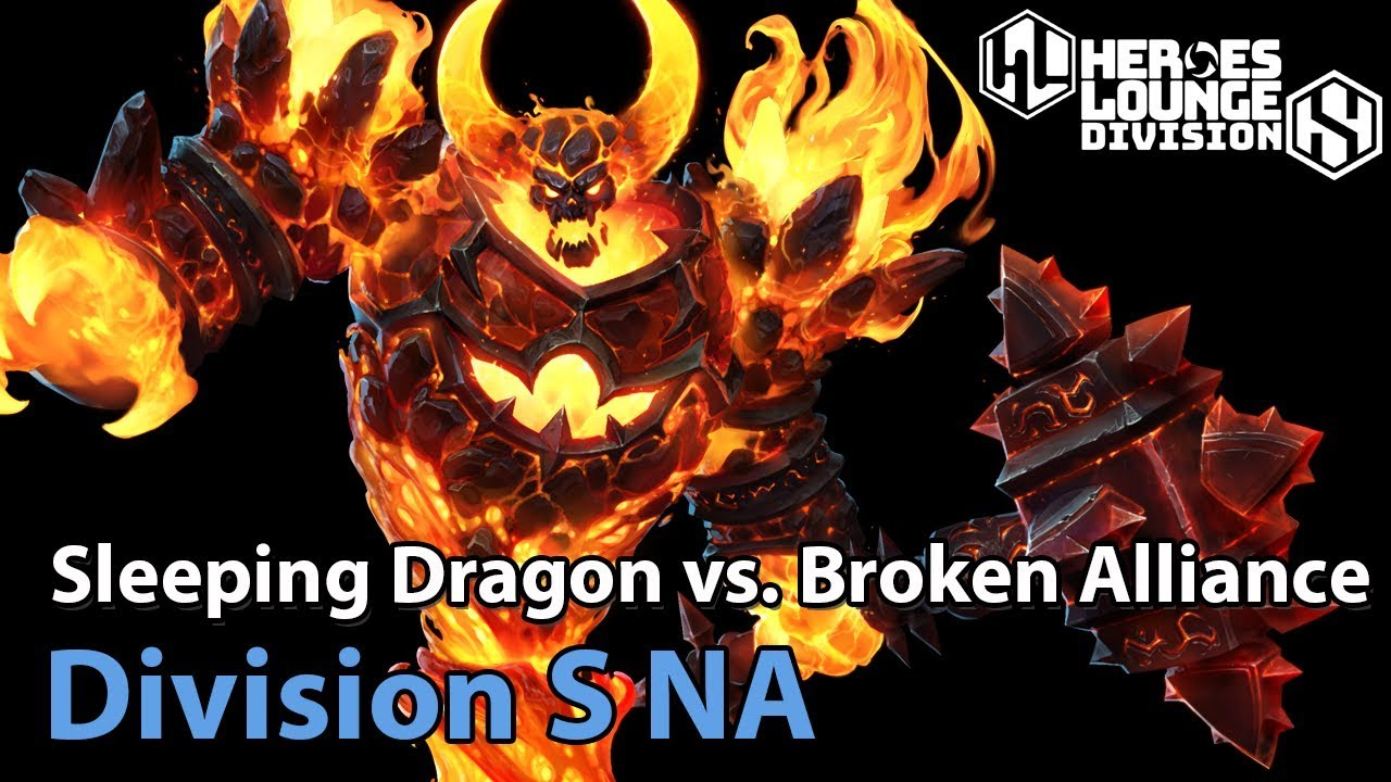 ► Sleeping Dragon vs. Broken Alliance Heroes of the Storm Pro Play: