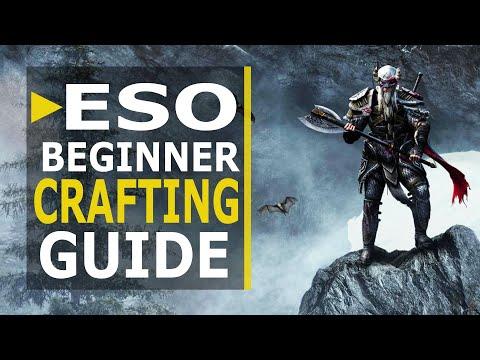 ESO Beginner Crafting Guide for Greymoor (2020) UPDATED!