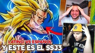 ESPAÑOLES REACCIONAN A DRAGON BALL LATINO ⚡ GOKU SE TRANSFORMA EN SSJ3