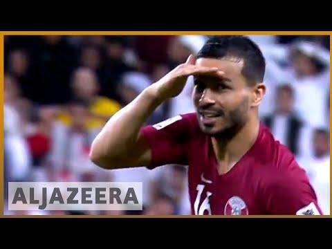 Qatar thrash UAE to reach Asian Cup football fina