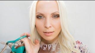 видео Как затонировать желтизну волос блондинкам. Revlon Nutri Color Creme 1002