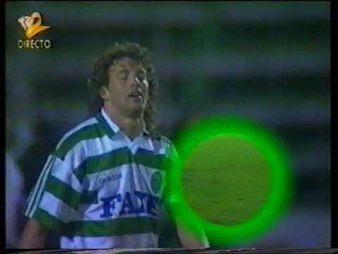 V. Setúbal - 0 x Sporting - 0 (ap) de 1993/1994 1/8 Final Taça de Portugal