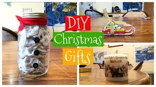 Diy Christmas Gifts | Pinterest Inspired Gifts For Friends And Family | My Life Fast Forward