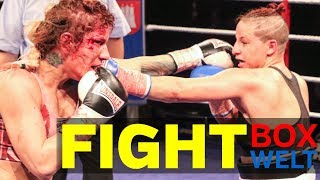 Beke Bas vs Karina Kopinska - 8 rounds super lightweight - 03.12.2017 - Grosse Freiheit 36, Hamburg