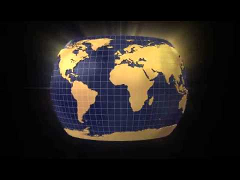 USA Map And Flag Zoom Out On Spinning Globe YouTube - Usa globe map