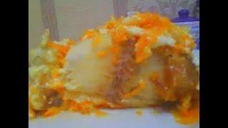(ВИДЕО ПЕРЕСНЯТО, ССЫЛКА В ОПИСАНИИ)Очень вкусная тушеная рыба в утятнице с луком и морковью