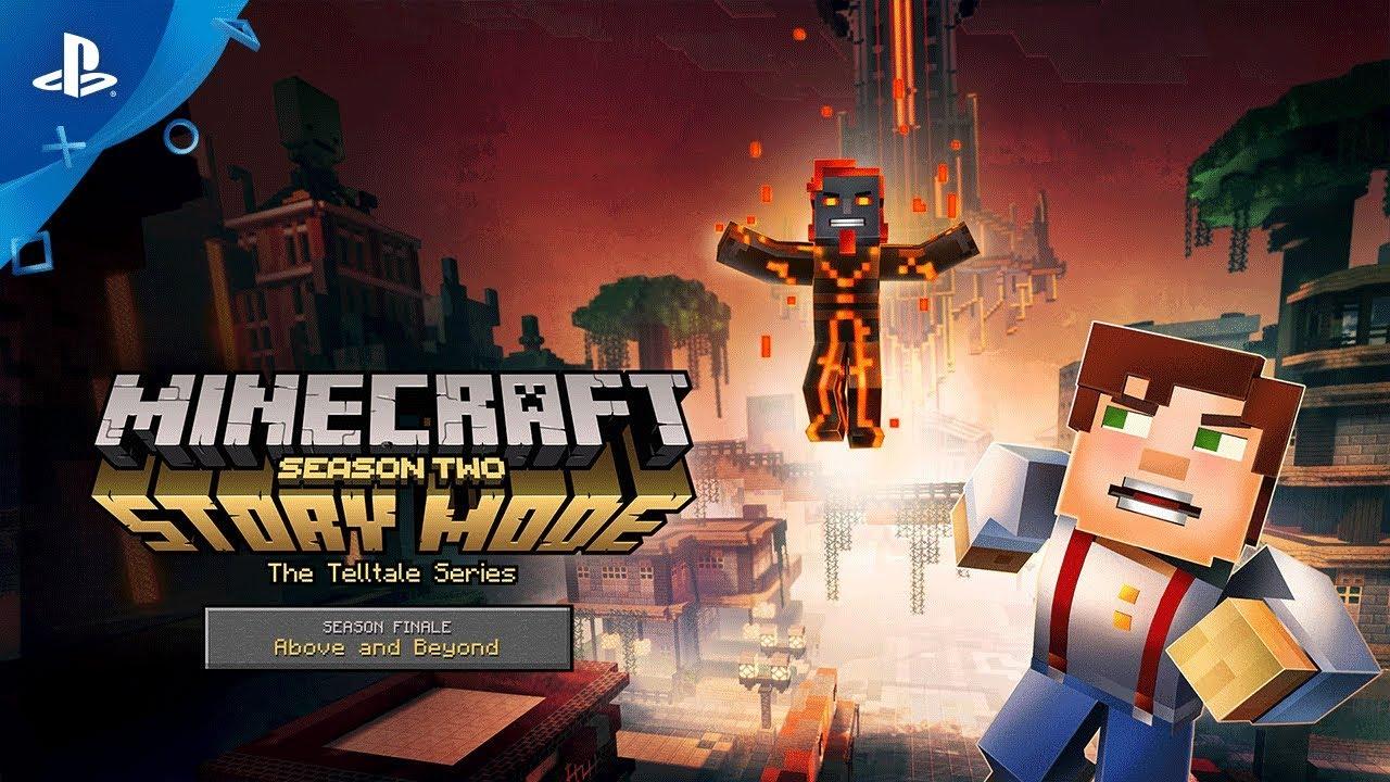 Minecraft Story Mode Season Two Season Finale Trailer Ps4