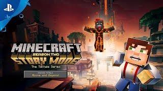 Minecraft: Story Mode – Season Two – Season Finale Trailer | PS4 thumbnail