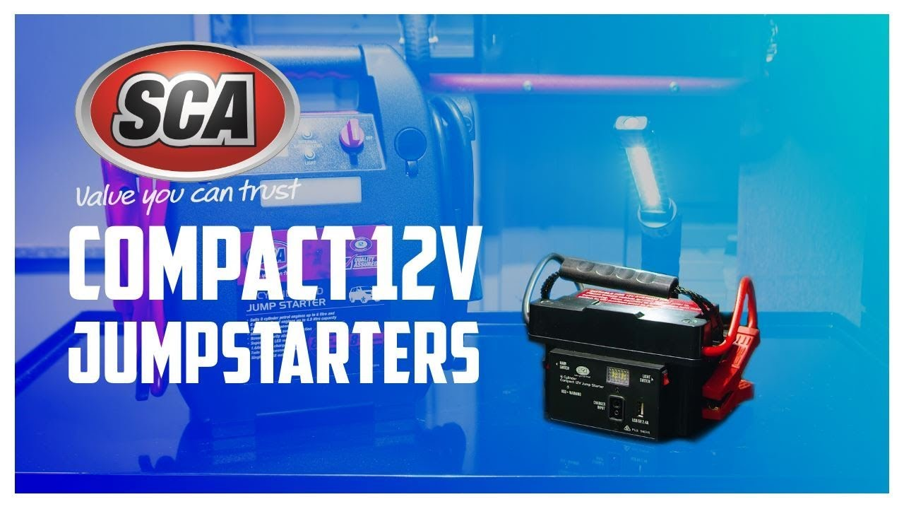 Sca Compact 12 Volt Jump Starters Supercheap Auto Youtube