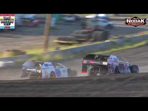 Nodak Speedway IMCA Modified Heats (Motor Magic Night #2) (9/2/18)
