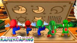 Mario Party 4 Minigames Battle Mario Vs Yoshi Vs Luigi Vs Peach