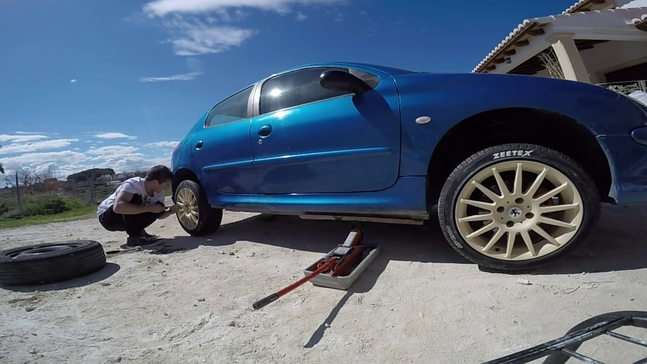 peugeot 206 project build 2016 gopro - youtube