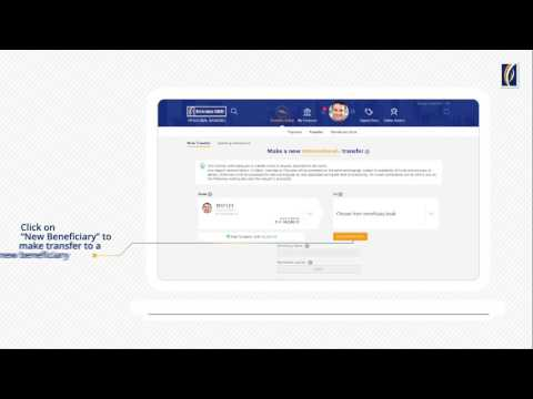 International Transfers With Emirates Nbd Online Banking Youtube