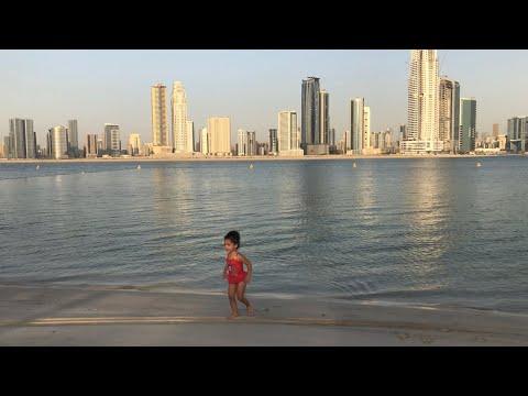 Dubai Mamzar beach 🏝