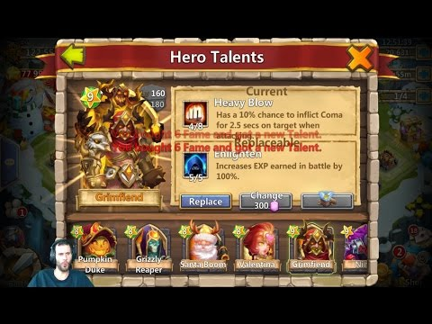 25k Gems For Talents & LiL Nick Android Events BazaaR Castle Clash