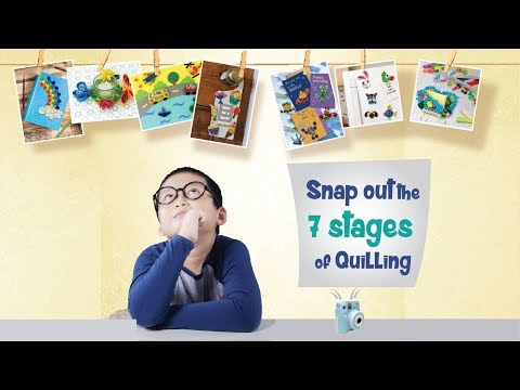 Master the Quilling techniques with World of Paper Quilling | DIY Kit