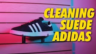 Adidas | Suede Cleaning - YouTube