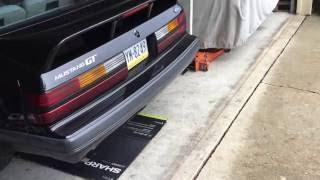 1985 mustang 408ci and borla pro xs mufflers