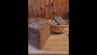 Домашний чёрный хлеб в хлебопечке Самый простой рецепт