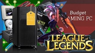 $150 Budget Gaming PC - League of Legends Ultra Settings 60+ FPS Test